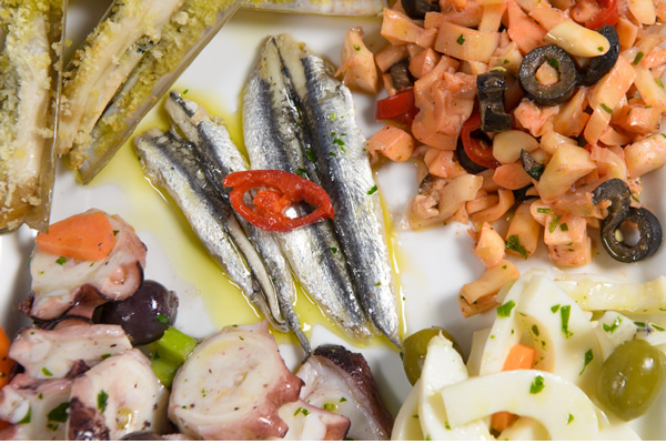 Gourmet food Roma bistro pescheria