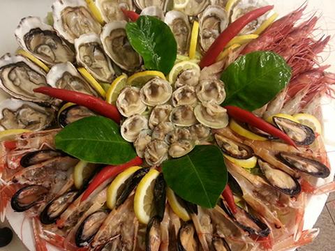 plateau pesce Roma