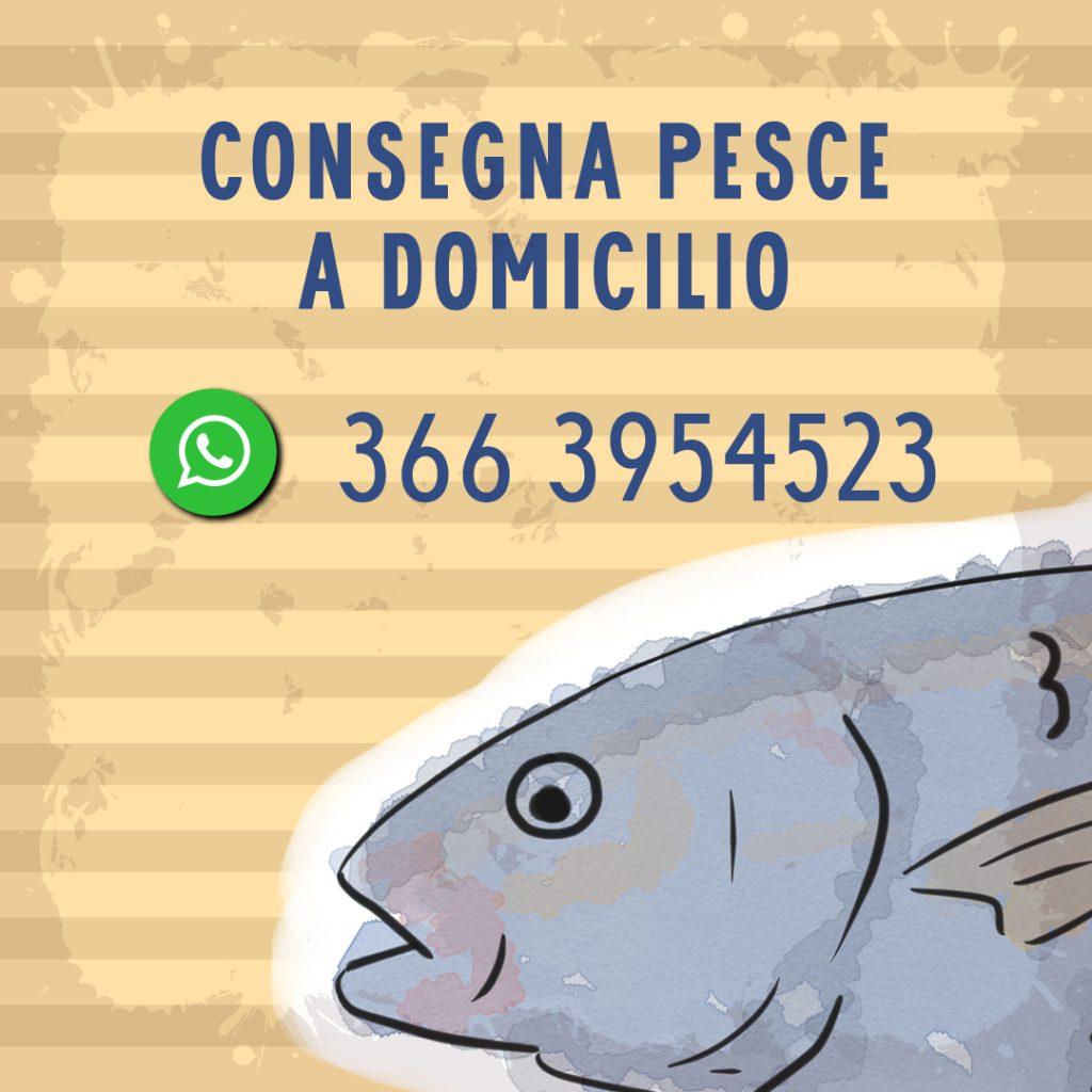 Consegna pesce a domicilio Roma